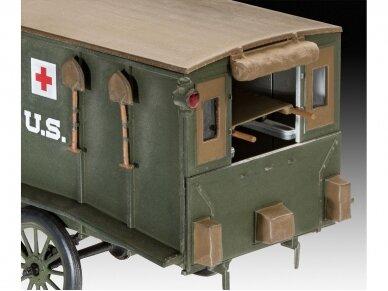 Revell - Model T 1917 Ambulance, 1/35, 03285 3