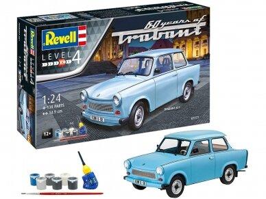 "Revell - Trabant 601S ""60 Jahre"" dovanų komplektas, Mastelis: 1/24, 07777"