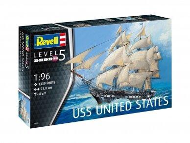Revell - USS United States, Mastelis: 1/96, 05606
