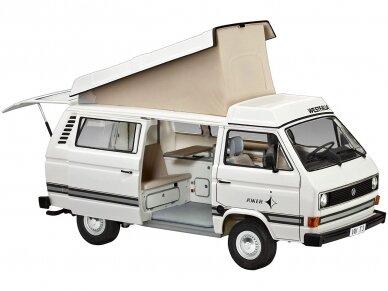 Revell - Volkswagen T3 Camper, Scale: 1/25, 07344 3