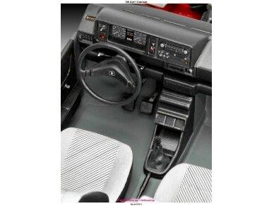 Revell - Volkswagen VW Golf 1 Cabriolet, Mastelis: 1/24, 07071 3