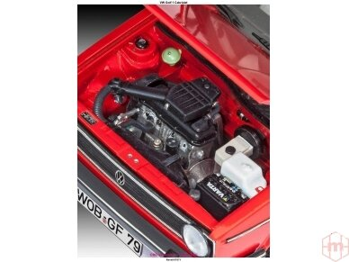 Revell - Volkswagen VW Golf 1 Cabriolet, Mastelis: 1/24, 07071 4