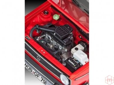 Revell - Volkswagen VW Golf 1 Cabriolet, Mastelis: 1/24, 07071 7
