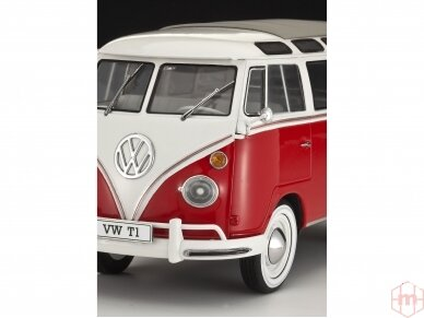 Revell - VW T1 Samba Bus Model Set, Scale: 1/24, 67399 3
