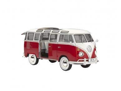 Revell - VW T1 Samba Bus Model Set, Scale: 1/24, 67399 2