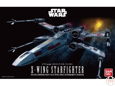 Revell - X-Wing Starfighter, Scale: 1/72, 01200