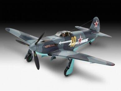 Revell - Yakovlev Yak-3 dovanų komplektas, Mastelis: 1/72, 63894 3