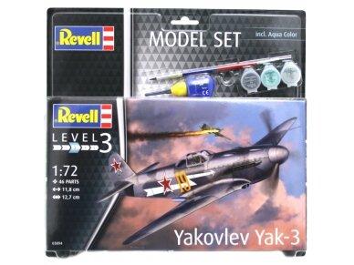 Revell - Yakovlev Yak-3 dovanų komplektas, Mastelis: 1/72, 63894 2