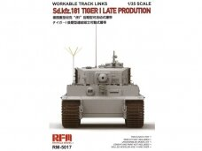RFM - Workable Track Links For Tiger Late prod., 1/35, 5017