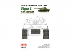 RFM - Tiger I Workable Tracks For Tiger I Early Production, 1/35, 5002