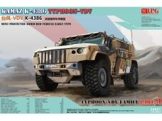 RPG Model - KAMAZ K-4386 Typhoon-VDV Mine-Protected Armoured Vehicle Early Typ, 1/35, 35021