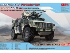 RPG Model - KAMAZ K-4386 Typhoon-VDV with 30 mm 2A42 cannon system, 1/35, 35002
