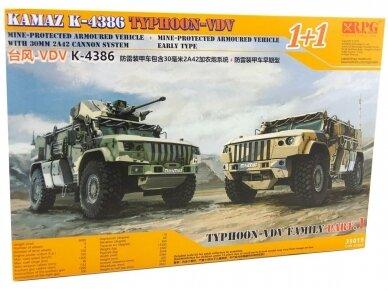 RPG Model - KAMAZ K-4386 TYPHOON-VDV FAMILY, 1/35, 35019
