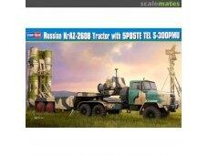 Hobby Boss - Russian KrAZ-260B Trctor w. 5P85TE TEL S-300PMU, Mastelis: 1/35, 85511
