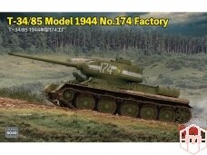 Rye Field Model - T-34/85 Model 1944 No.174 Factory, 1/35, RFM-5040