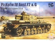 Border Model - Pz.Kpfw.IV Ausf. F2 & G, 1/35, BT-004