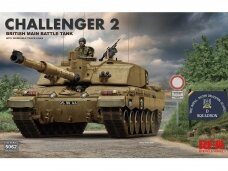 Rye Field Model - Challenger 2 with workable track links, 1/35, RFM-5062