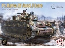 Border Model - Pz.Kpfw.IV Ausf.J Late, Mastelis: 1/35, BT-008