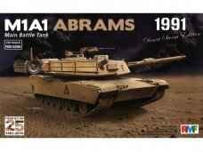 "Rye Field Model - M1A1 Abrams ""Desert Storm edition 1991"", Scale: 1/35, RFM-5006"