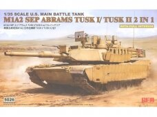 Rye Field Model - M1A2 SEP Abrams TUSK I /TUSK II with full interior, 1/35, RFM-5026