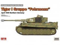 "Rye Field Model - Tiger I Gruppe ""Fehrmann"" April 1945 Northern Germany, 1/35, RFM-5005"