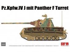 Rye Field Model - Pz.Kpfw.IV J mit Panther F Turret, 1/35, 5068