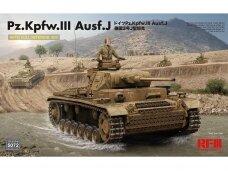 Rye Field Model - Pz.Kpfw.III Ausf. J Full Interior Kit, Mastelis: 1/35, RFM-5072