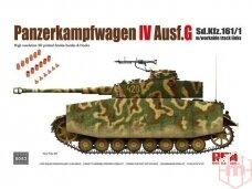 Rye Field Model - Panzerkampfwagen IV Ausf. G Sd.Kfz. 161/1 w/ workable track links, 1/35, 5053