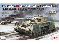 Rye Field Model - Pz.Kpfw.IV Ausf.J Late Production Pz.Beob.Wg.IV Ausf.J, 1/35, RFM-5033