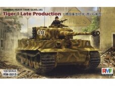 Rye Field Model - Sd.Kfz. 181 Pz.kpfw.VI Ausf. E Tiger I Late Production, Mastelis: 1/35, RFM-5015