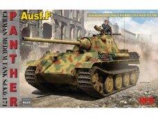 Rye Field Model - German Medium Tank Sd.Kfz.171 Panther Ausf. F w/ workable track, Kw.K L/70 & Kw.K L/100, 1/35, RFM-5045