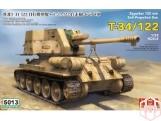 Rye Field Model - T-34/122 Egyptian, Scale: 1/35, RFM-5013