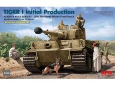 Rye Field Model - Tiger I Initial Production Early 1943 North African Front/Tunisia, Mastelis: 1/35, RFM-5050