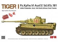 Rye Field Model - Tiger I Pz.Kpfw.VI Ausf.E Sd.Kfz. 181, 1/35, RFM-5001U