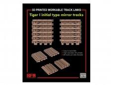Rye Field Model - Tiger I Initial Type Mirror Tracks (3D Printed), 1/35, RM-2019