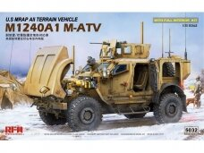 Rye Field Model - U.S MRAP All Terrain Vehicle M1240A1 M-ATV su pilnu interjeru, Mastelis: 1/35, RFM-5032