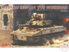 Rye Field Model - M551A1/M551A1 TTS Sheridan, Mastelis: 1/35, RFM-5020