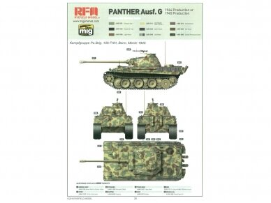 Rye Field Model - Panther Ausf.G Early / Late, 1/35, RFM-5018 10