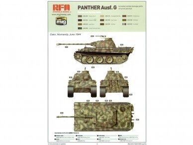Rye Field Model - Panther Ausf.G Early / Late, 1/35, RFM-5018 11