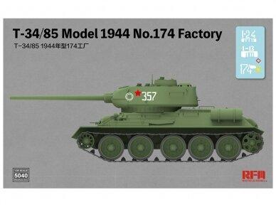 Rye Field Model - T-34/85 Model 1944 No.174 Factory, Scale: 1/35, RFM-5040 2