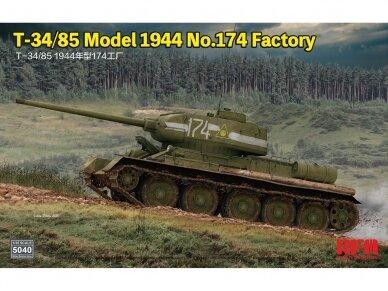 Rye Field Model - T-34/85 Model 1944 No.174 Factory, Scale: 1/35, RFM-5040