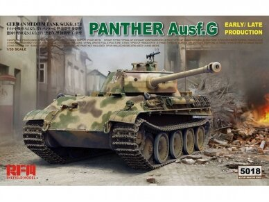 Rye Field Model - Panther Ausf.G Early / Late, 1/35, RFM-5018