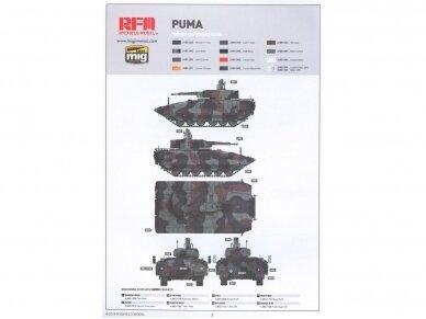 Rye Field Model - German Schutzenpanzer PUMA with workable track links, Scale: 1/35, RFM-5021 11