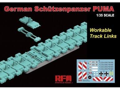 Rye Field Model - German Schutzenpanzer PUMA with workable track links, Mastelis: 1/35, RFM-5021 2