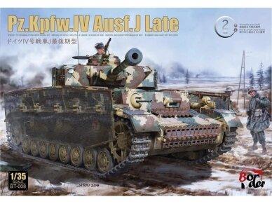 Border Model - Pz.Kpfw.IV Ausf.J Late, 1/35, BT-008