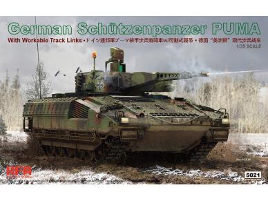 Rye Field Model - German Schutzenpanzer PUMA with workable track links, Scale: 1/35, RFM-5021