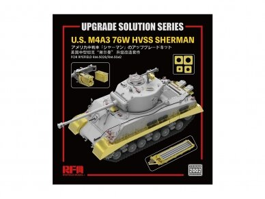 Rye Field Model - Upgrade Solution for U.S. M4A3 76W HVSS Sherman (for RM-5028/RM-5042), Scale: 1/35, RM-2002