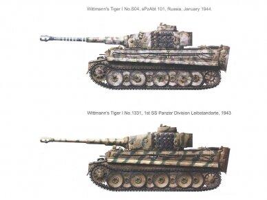 "Rye Field Model - German Tiger I Early Production Wittmann's Tiger No. 504 su pilnu interjeru ir skaidriomis dalimis, ""veikiantys"" vikšrai, Mastelis: 1/35, RFM-5025 10"