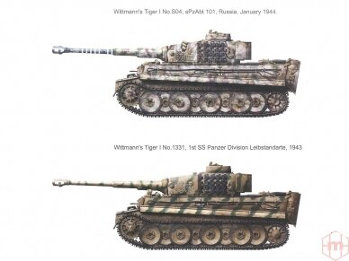 Rye Field Model - German Tiger I Early Production Wittmann's Tiger No. 504 with full interior and clear parts with workable tracks, Scale: 1/35, RFM-5025 10