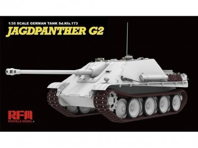 Rye Field Model - Jagdpanther G2 with Full Interior and Workable Track Links, Mastelis: 1/35, RFM-5022 4